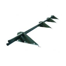 Снегозадержатель трубчатый МегаЭКОНОМ для кровли из металлочерепицы, профнастила 3м.