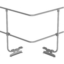 Угол соединения для трубы ограждения