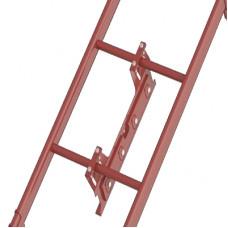 Центральное крепление лестницы для фальцевой кровли