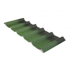 Черепица Ондувилла зеленый 3D