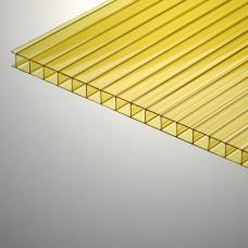 Сотовый поликарбонат Polygal (4 оттенка в палитре), 6 мм
