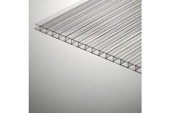 Сотовый поликарбонат Polygal прозрачный, 6 мм